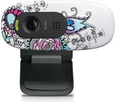 Веб-камера Logitech HD Webcam C 270 Floral foray